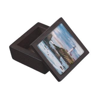 Caja de regalo superior del faro del punto de la p cajas de regalo de calidad