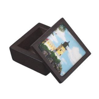 Caja de regalo superior del faro partido de la roc caja de recuerdo de calidad
