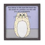 """Caja de regalo superior del """"gato amarillo"""" cajas de regalo de calidad"""