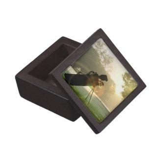 Caja de regalo superior del golf cajas de regalo de calidad
