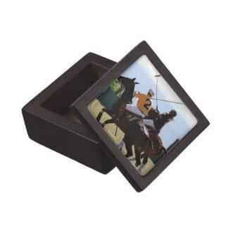 Caja de regalo superior del partido del caballo de cajas de joyas de calidad