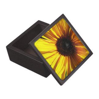 Caja de regalo superior del primer amarillo del gi caja de joyas de calidad