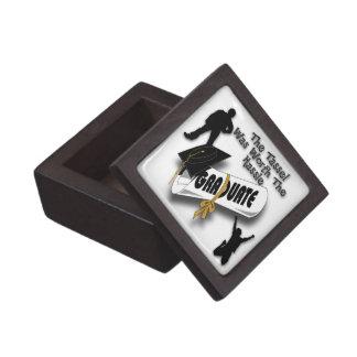 Caja de regalo superior negra del casquillo del gr cajas de regalo de calidad