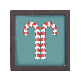 Caja de regalo superior roja de los bastones de ca cajas de regalo de calidad