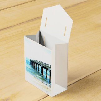 Caja de regalo temática de la playa cajas para detalles de boda
