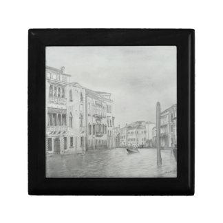 Caja de regalo - Venecia Joyero Cuadrado Pequeño