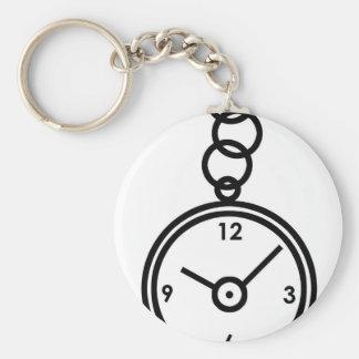 Caja de reloj de bolsillo llavero