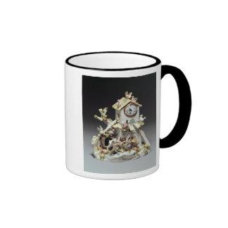 Caja de reloj del corral de la porcelana de Chelse Taza