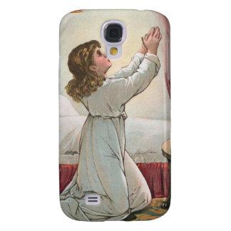 Caja de rogación de la mota del iPhone 3 del chica