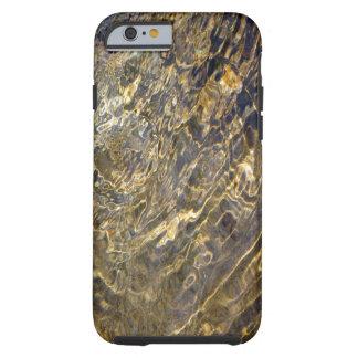 Caja de Shell de oro del iPhone 6 del agua 2 de la Funda Resistente iPhone 6
