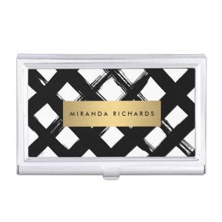 Caja de tarjeta intrépida de lujo de las caja de tarjetas de visita