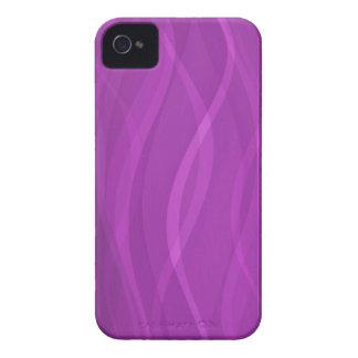 Caja de tarjeta púrpura eléctrica del extracto iPhone 4 cobertura