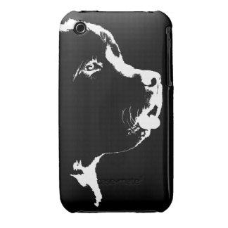 Caja de Terranova del caso del iPhone 3G del perro iPhone 3 Case-Mate Protectores