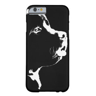 Caja de Terranova del caso del iPhone 6 del perro Funda De iPhone 6 Barely There