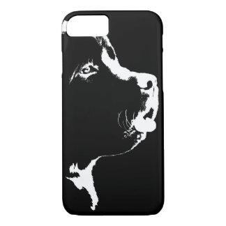 Caja de Terranova del caso del iPhone 7 del perro Funda iPhone 7