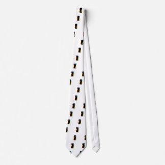 Caja de texto con las flechas corbata personalizada