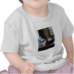 Caja de tubos de ensayo camisetas