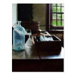 Caja de tubos de ensayo postales