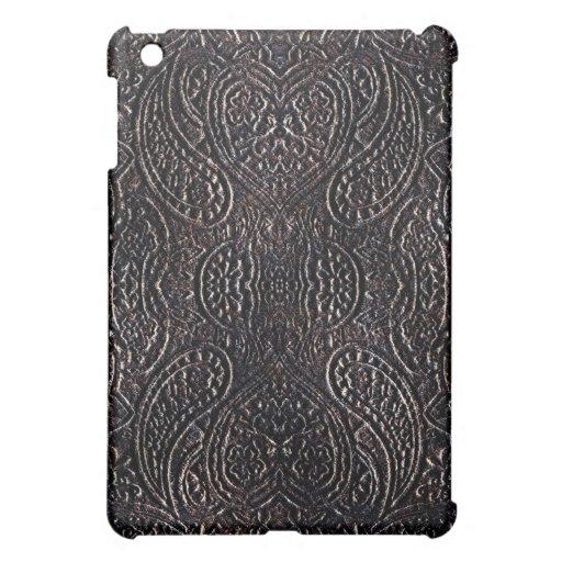 Caja decorativa grabada del iPad del metal