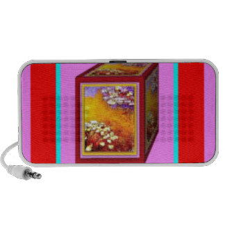 Caja del agua Lilies.Gift por Sharles Laptop Altavoz
