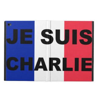 Caja del aire 2 del ipad de Je Suis Charlie