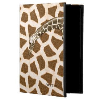 Caja del aire 2 del iPad de la jirafa