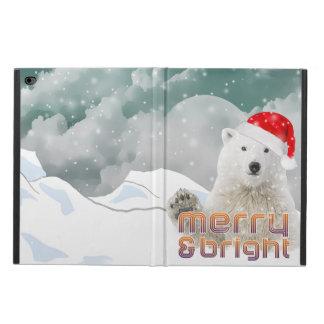 Caja del aire 2 del iPad del navidad del oso polar