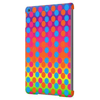 Caja del aire de la Pendiente-iPad de los puntos Funda Para iPad Air