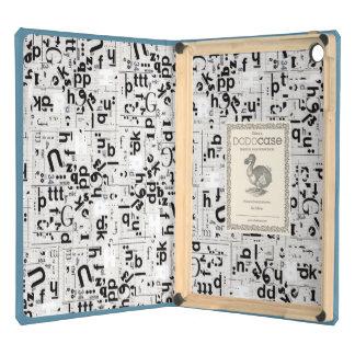 caja del aire del iPad - arte de la tipografía en