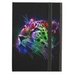 caja del aire del iPad con el tigre brillante