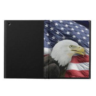 Caja del aire del iPad de la bandera americana