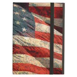 Caja del aire del iPad de la bandera americana de