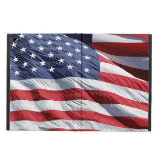 Caja del aire del iPad de la bandera de los E.E.U.
