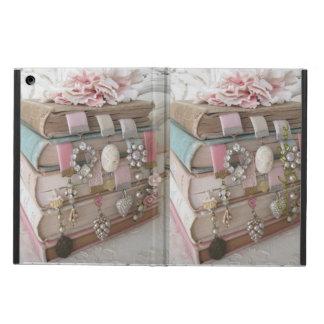 Caja del aire del iPad de la broche del Victorian