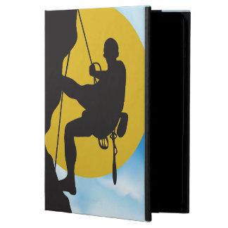 Caja del aire del iPad de la escalada