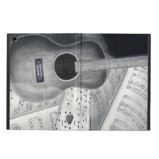 Caja del aire del iPad de la guitarra y de la part