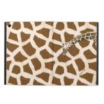 Caja del aire del iPad de la jirafa con el soporte