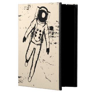 Caja del aire del iPad de la luna que camina retra