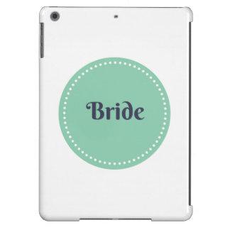 Caja del aire del ipad de la novia funda para iPad air