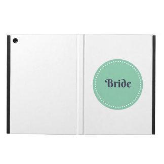 caja del aire del ipad de la novia