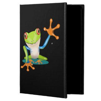 Caja del aire del iPad de la rana