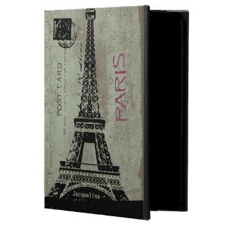 Caja del aire del iPad de la torre Eiffel de la po