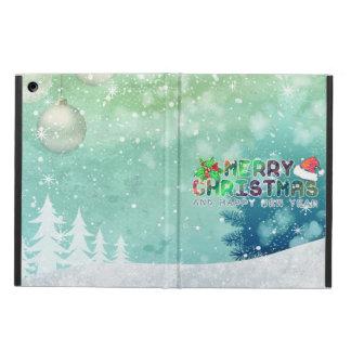 Caja del aire del iPad de las Felices Navidad y de
