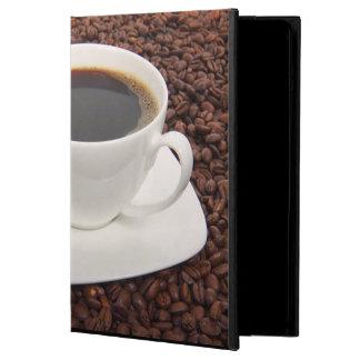 Caja del aire del iPad de los amantes del café