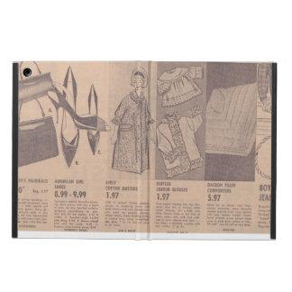 Caja del aire del iPad de los anuncios de periódic