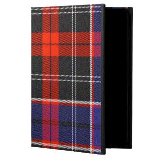 Caja del aire del iPad de obispo Tartan