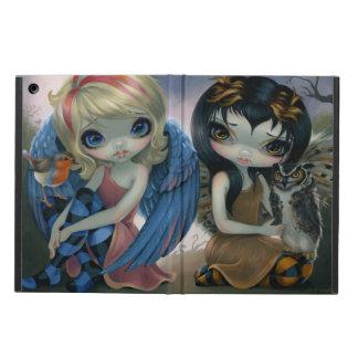 "Caja del aire del iPad de ""Owlyn y de Robyn"""