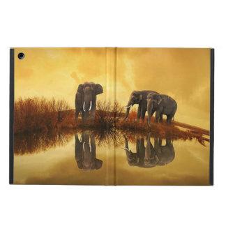 Caja del aire del iPad de Powis de la fauna del tr