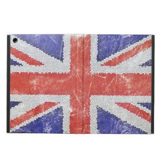Caja del aire del iPad de Union Jack sin Kickstand