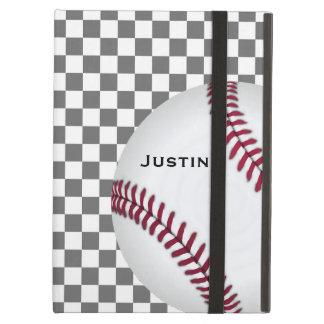 Caja del aire del iPad del aficionado al béisbol